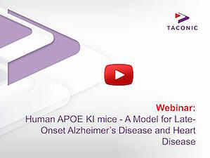 Webinar: Human APOE KI mice - A Model for Late-Onset Alzheimer's Disease and Heart Disease